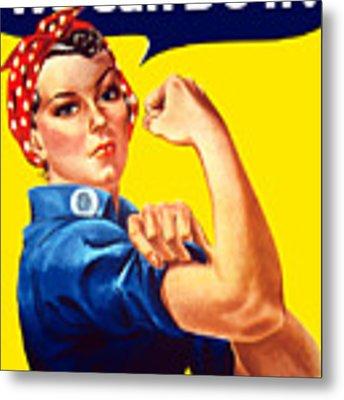 Rosie The Rivetor Metal Print