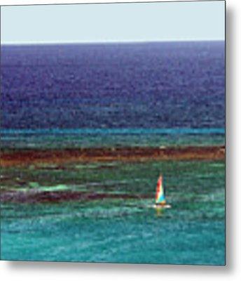 Sailing Day Metal Print by Karen Zuk Rosenblatt