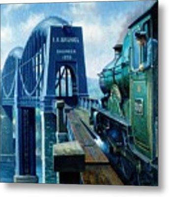 Saltash Bridge. Metal Print