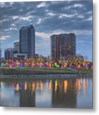 Scioto Morning 3567 Metal Print by Brian Gryphon