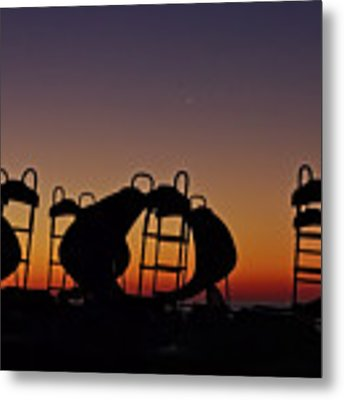 Shapes In The Dawn Metal Print by Jeremy Hayden