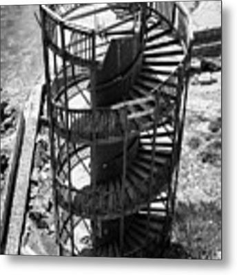 Stairs To Nowhere In Pismo Beach Metal Print by Priya Ghose
