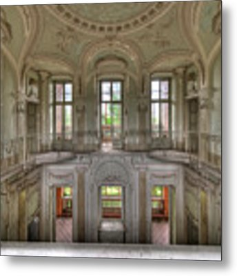 Stucco Villa - Villa Degli Stucchi I Metal Print by Enrico Pelos