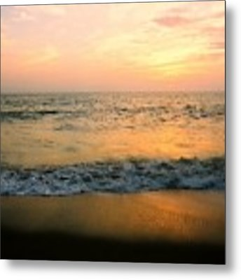 Sunset On Captiva Metal Print by AnnaJanessa PhotoArt