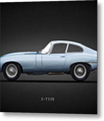 The 65 E-type Coupe Metal Print