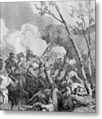 The Battle Of Bull Run Metal Print