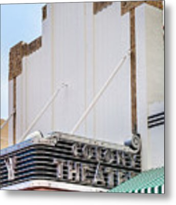 The Colony Theatre Metal Print by Ed Gleichman