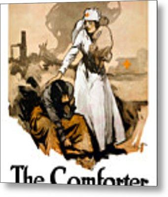 The Comforter - World War One Nurse Metal Print