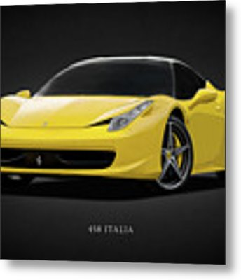 The Ferrari 458 Metal Print