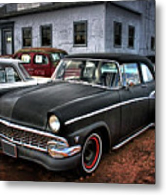 The Greaser's Ghost Metal Print by John De Bord