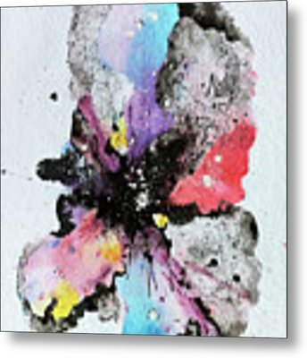 The Inexplicable Ignition Of Time Expanding Into Free Space Phase Two Number 29  Metal Print by Mark M  Mellon