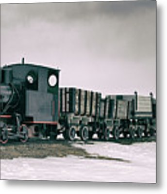 The Most Northern Train? Metal Print by James Billings