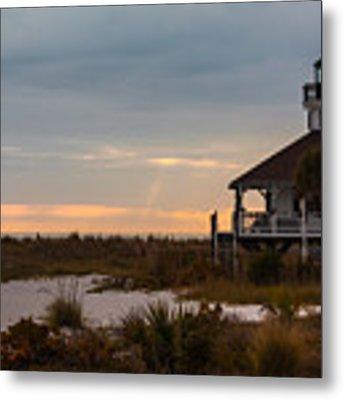 The Port Boca Grande Lighthouse Metal Print by Ed Gleichman