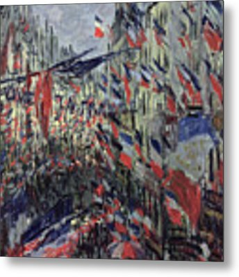 The Rue Saint Denis Metal Print