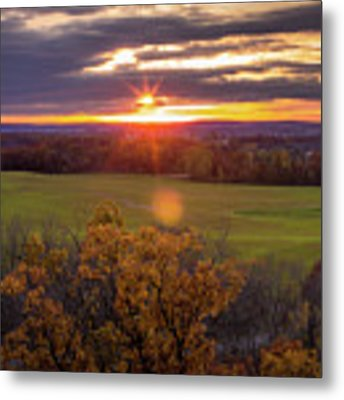 The View From Up Here Metal Print by Viviana Nadowski
