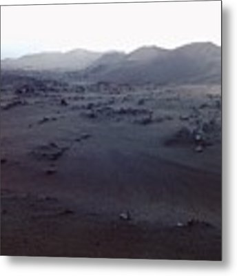Timanfaya National Park Metal Print by Martina Uras