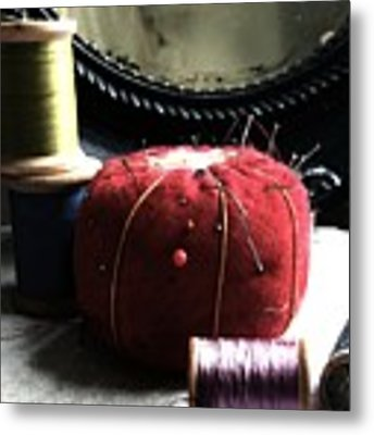 Tools Of The Trade Metal Print by Delight Worthyn