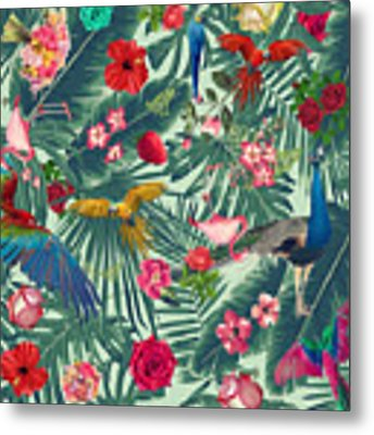 Tropical Fun Time  Metal Print by Mark Ashkenazi