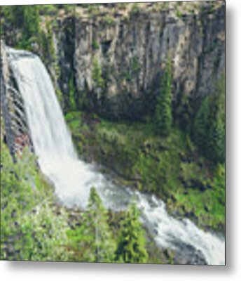 Tumalo Falls Metal Print by Margaret Pitcher