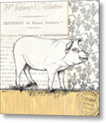 Vintage Farm 2 Metal Print
