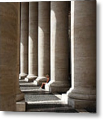 Waiting At St Peter's Metal Print by Julian Perry