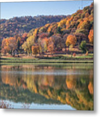 West Lake Winona With Woodlawn 2x3 Metal Print by Kari Yearous