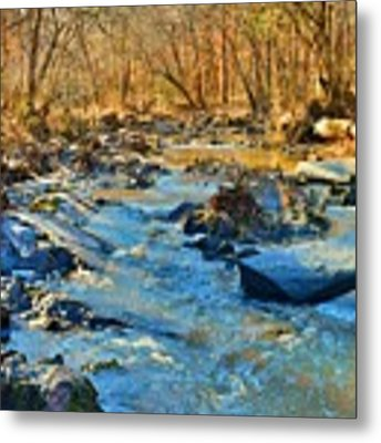 What Streams Are Made Of Metal Print by Lisa Wooten