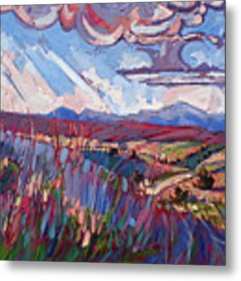 Windswept Plains Metal Print by Erin Hanson