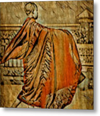 Young Buddhist Monk Metal Print by Lita Kelley