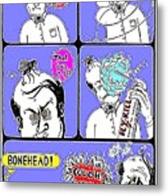 Bonehead Metal Print by Hartmut Jager