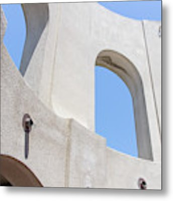 Coit Tower Telegraph Hill San Francisco California R586 Metal Print by Wingsdomain Art and Photography