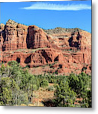 Courthouse Rock, Sedona Metal Print by Dawn Richards