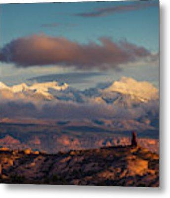 La Sal Mountains Metal Print by Scott Kemper