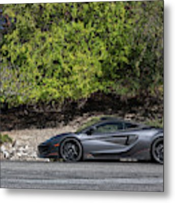 #mclaren #600lt #print Metal Print by ItzKirb Photography