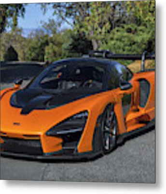 #mclaren #senna #print Metal Print by ItzKirb Photography