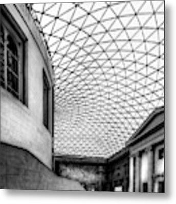 British Museum Metal Print by Adrian Evans
