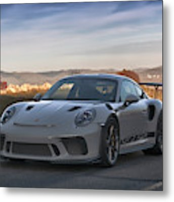 #porsche 911 #gt3rs #print Metal Print by ItzKirb Photography