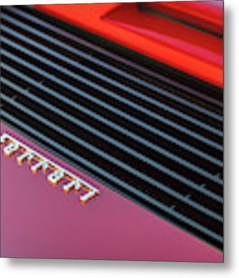 #ferrari #testarossa #print Metal Print by ItzKirb Photography