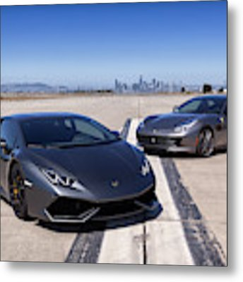 #lamborghini #huracan #print Metal Print by ItzKirb Photography