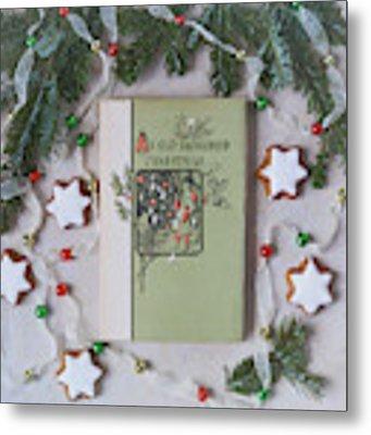 An Old Fashioned Christmas Metal Print by Kim Hojnacki