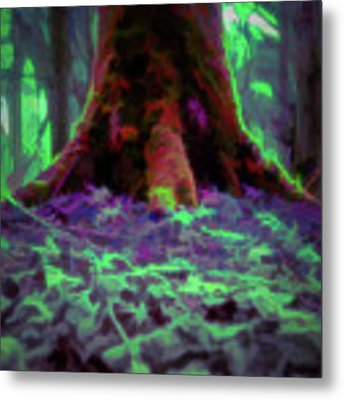 Another World - Overgrown Metal Print by Scott Lyons