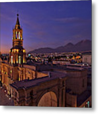 Arequipa Is Peru Best Kept Travel Secret Metal Print by Sam Antonio Photography
