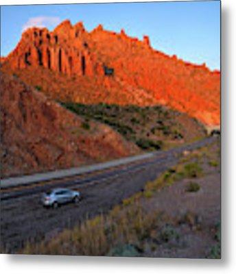 Arizona Highway  Metal Print by Chance Kafka