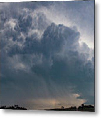 August Thunder 040 Metal Print by Dale Kaminski