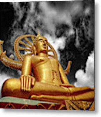Big Buddha Thailand Metal Print by Adrian Evans