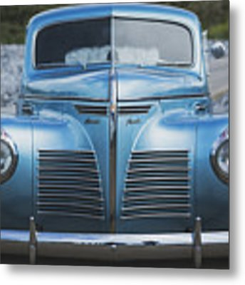 Blue Plymouth Metal Print by Elliott Coleman