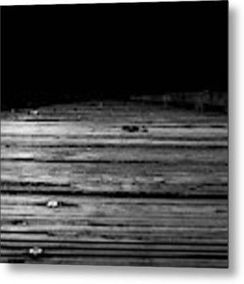 Boardwalk To The Unknown Metal Print by Doug Camara