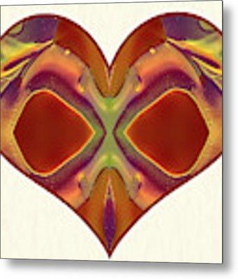 Colorful Heart - Naked Truth - Omaste Witkowski Metal Print by Omaste Witkowski