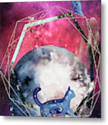 Cosmic Portal Metal Print by Bee-Bee Deigner