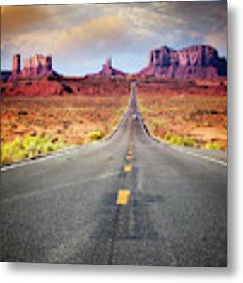 Desert Drive Metal Print by Scott Kemper